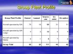 group fleet profile