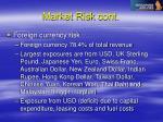 market risk cont