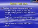 market risk cont67