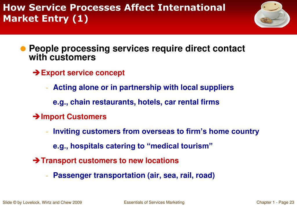 How Service Processes Affect International Market Entry (1)