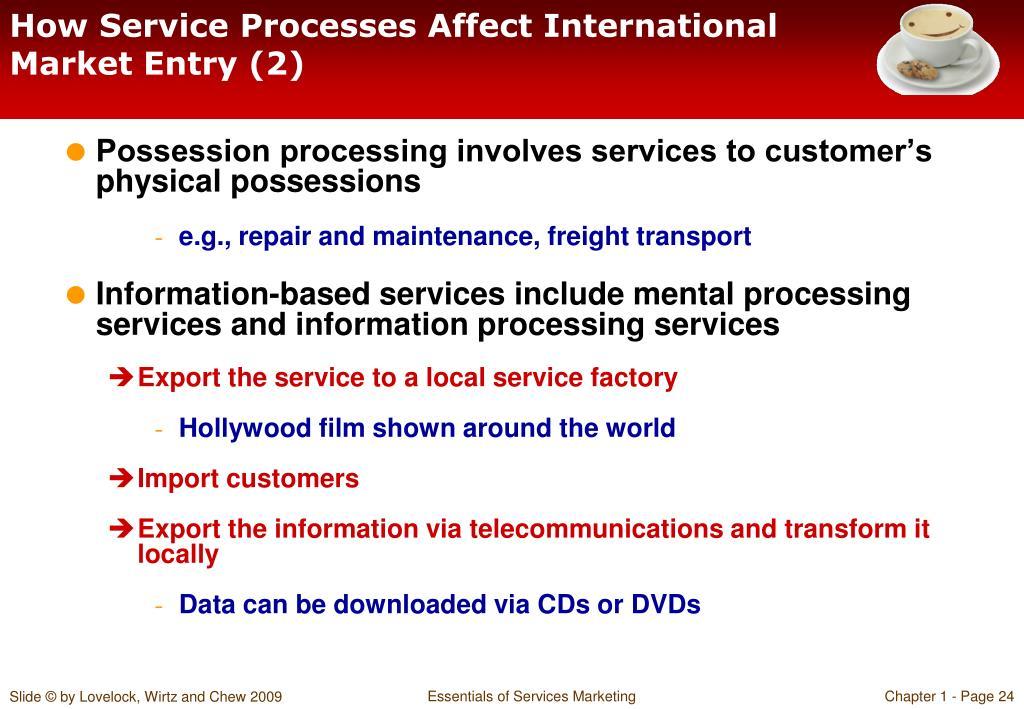 How Service Processes Affect International Market Entry (2)