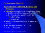 fundamentals of electricity30