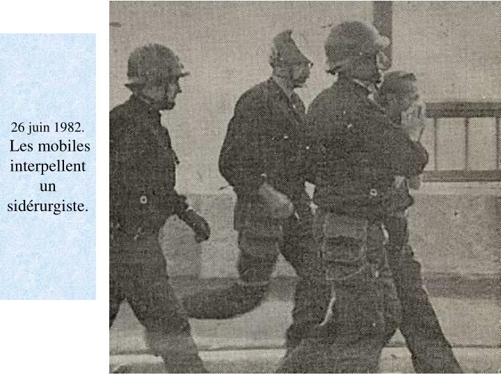 26 juin 1982.