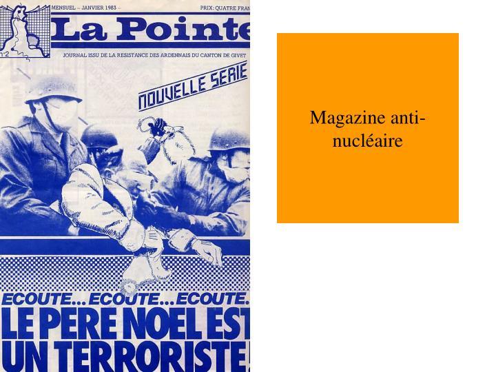 Magazine anti-nucléaire