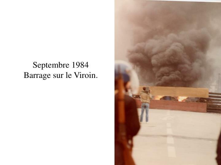 Septembre 1984