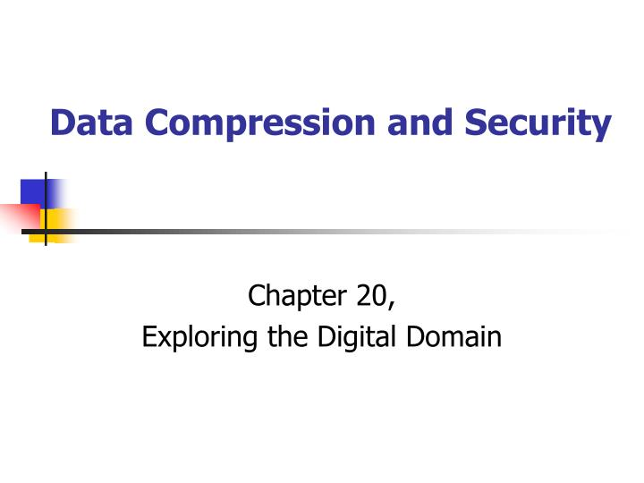 data compression and security n.