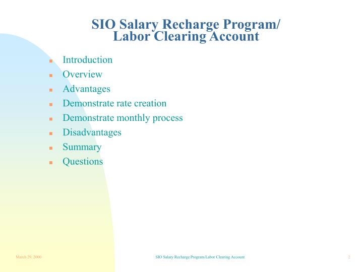 Sio salary recharge program labor clearing account2