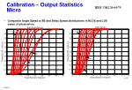 calibration output statistics micro