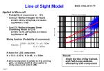 line of sight model