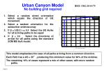 urban canyon model no building grid required