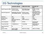 2g technologies