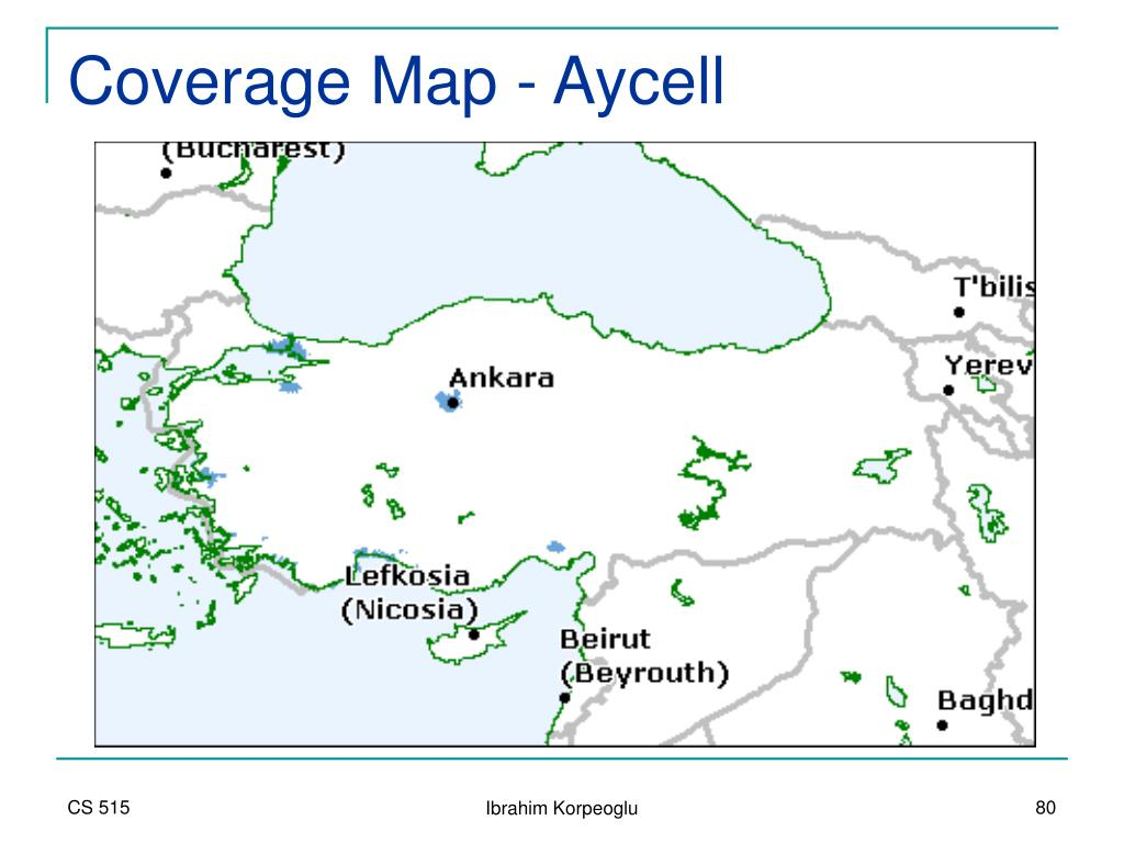 Coverage Map - Aycell