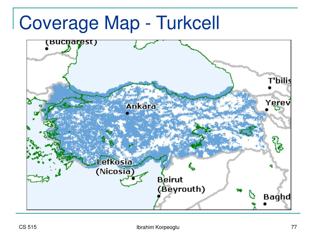 Coverage Map - Turkcell