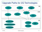 upgrade paths for 2g technologies