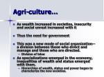 agri culture