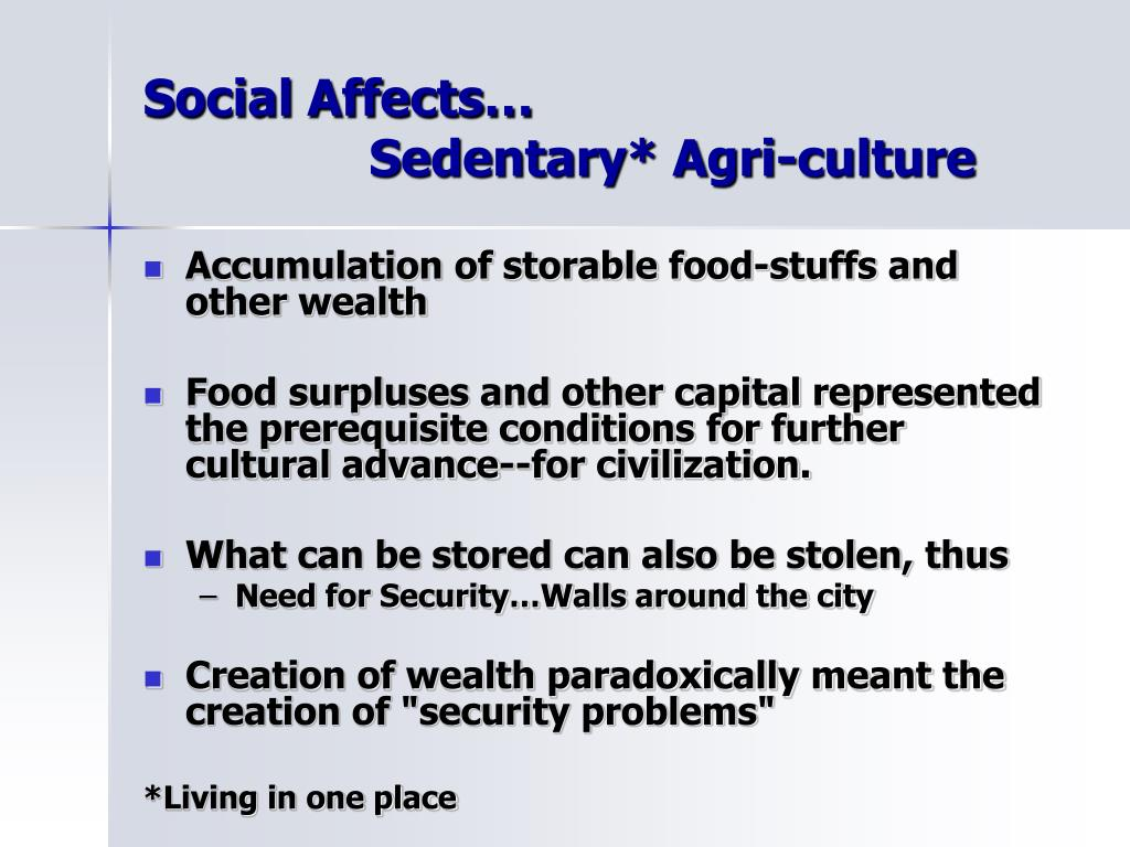 Social Affects…
