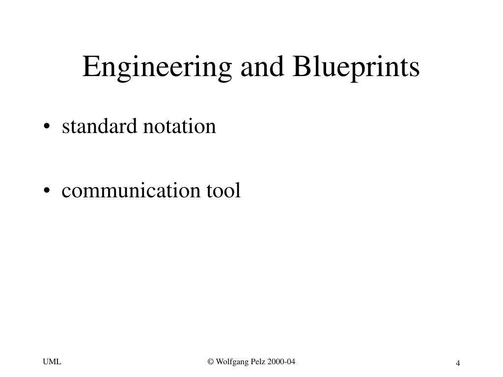 Engineering and Blueprints