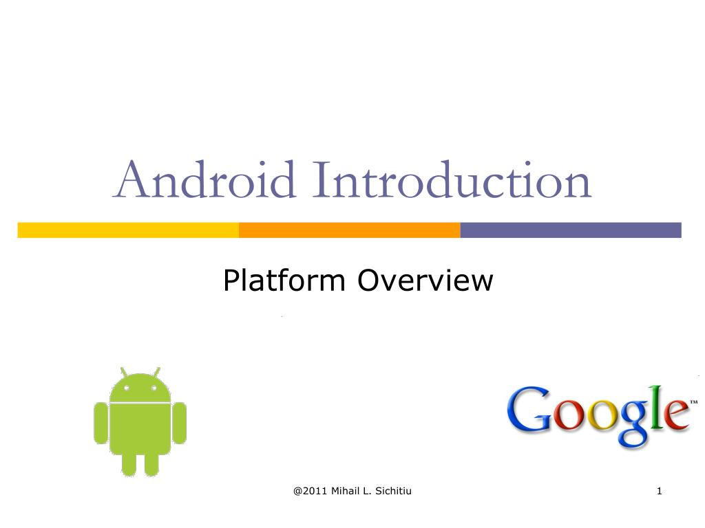 android introduction l.