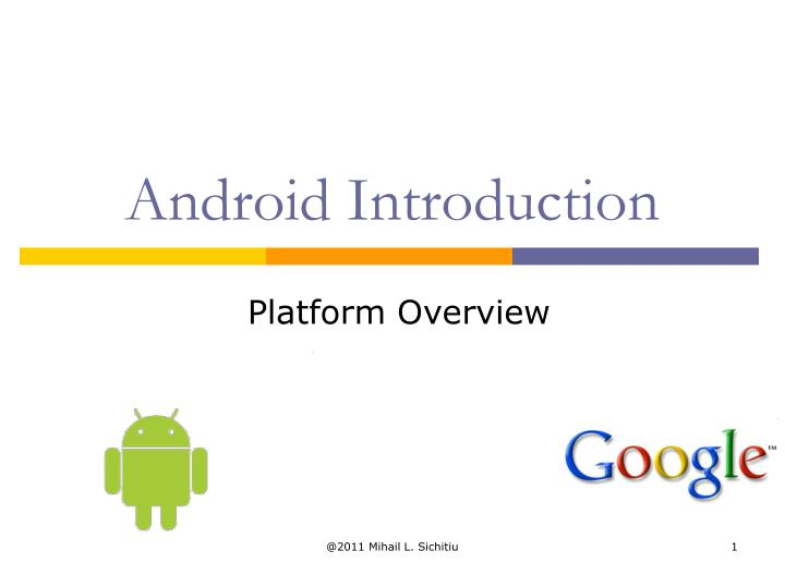 Android introduction