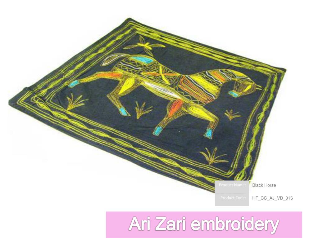 Ari Zari embroidery