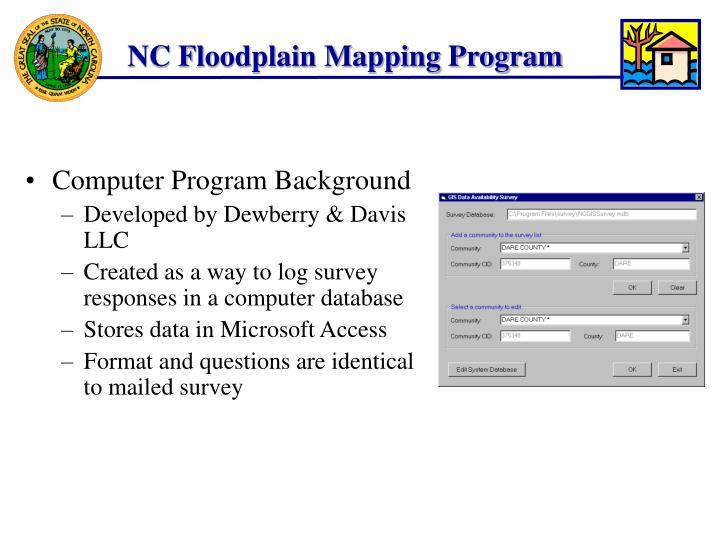 Computer Program Background
