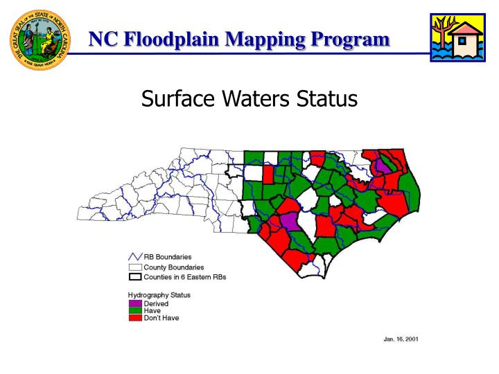 Surface Waters Status