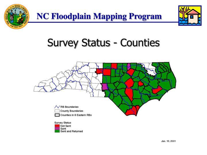 Survey Status - Counties