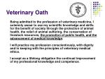 veterinary oath