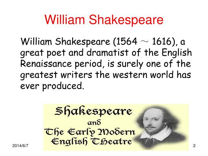 an examination of william shakespeare Dubisky, alicia (2006) dispelling the myth, kids don't like shakespeare: an examination of effective teaching methods to aide students in embracing the works of william shakespeare, language arts journal of michigan : vol 22: iss 1, article 15.