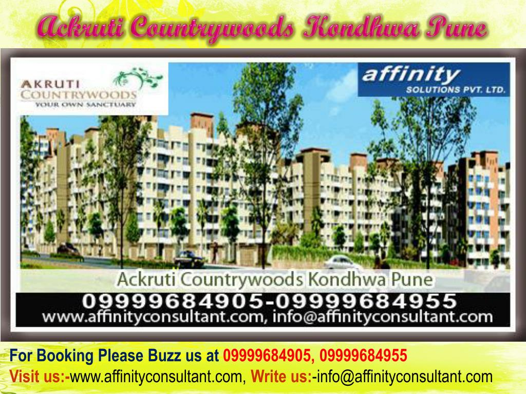 Ackruti Countrywoods Kondhwa Pune