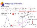 worse delay corner