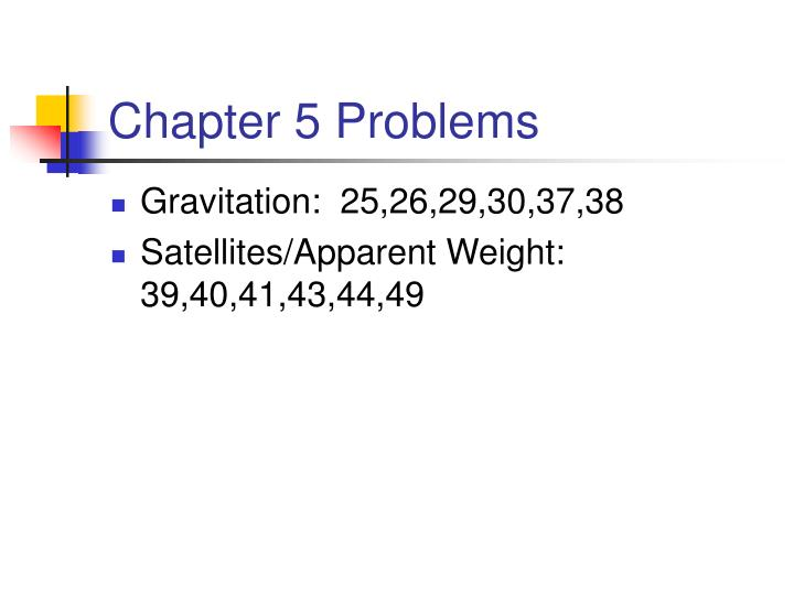 chapter 5 problems n.