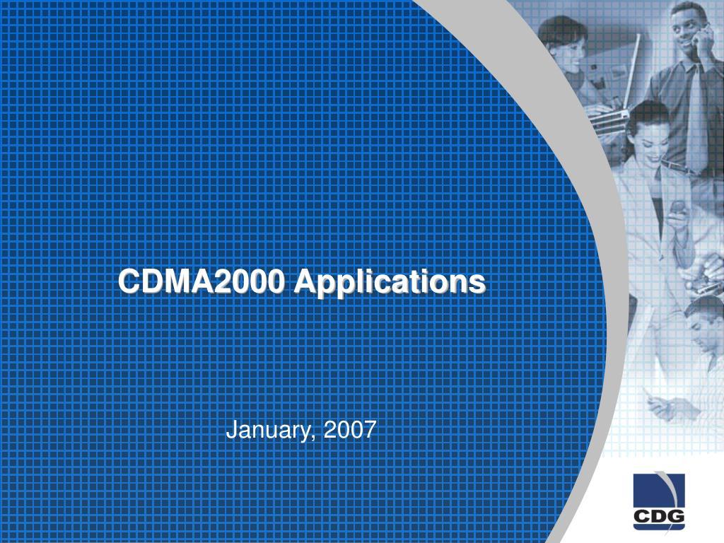 cdma2000 applications l.