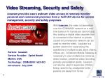 video streaming security and safety