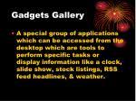 gadgets gallery