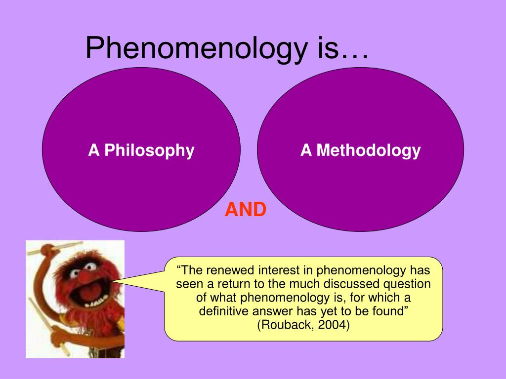 phenomenology research methodology