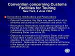 convention concerning customs facilities for touring new york 4 june 19541