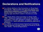 declarations and notifications1