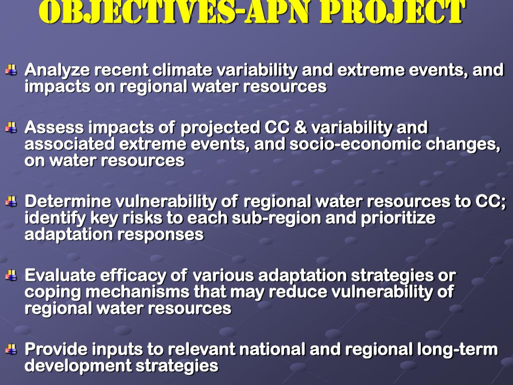 OBJECTIVES-APN Project