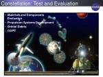 constellation test and evaluation