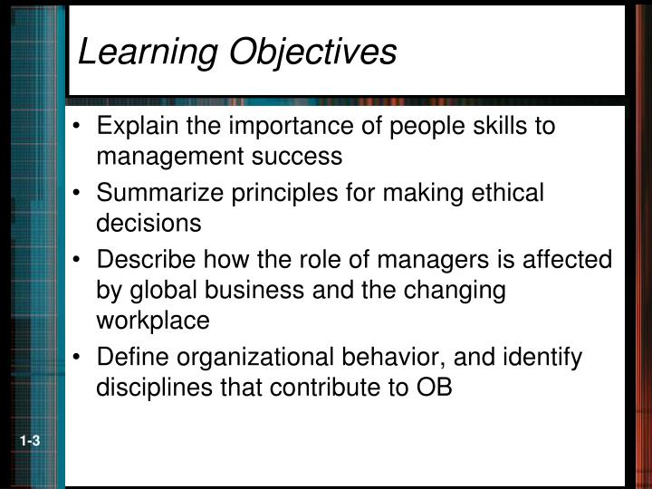 why organizational behavior is important to It is very important to study the organisational behaviour that's why manager must have organisation skills to run the department smoothly.