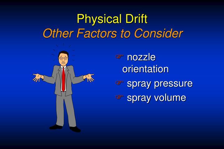 Physical Drift