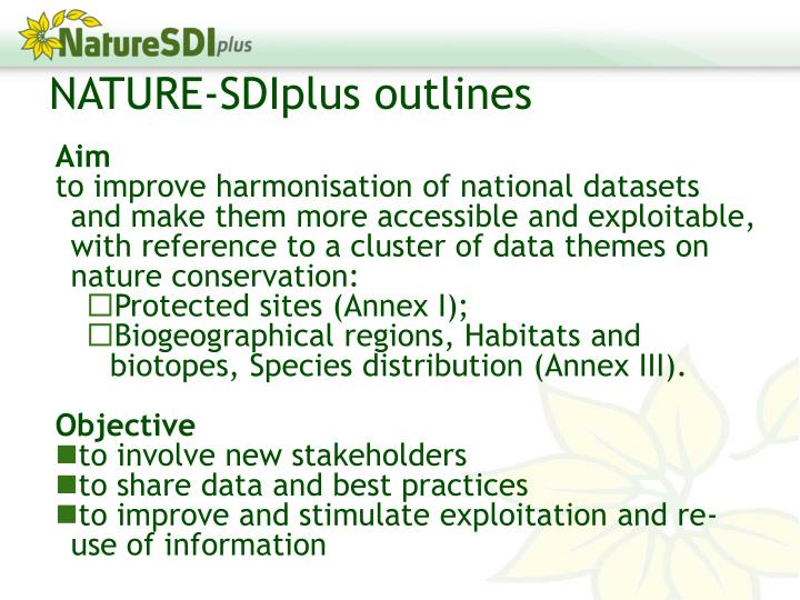 NATURE-SDIplus outlines