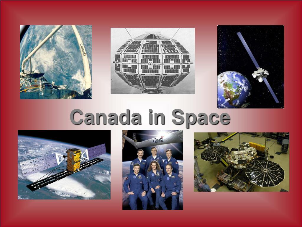 canada in space l.