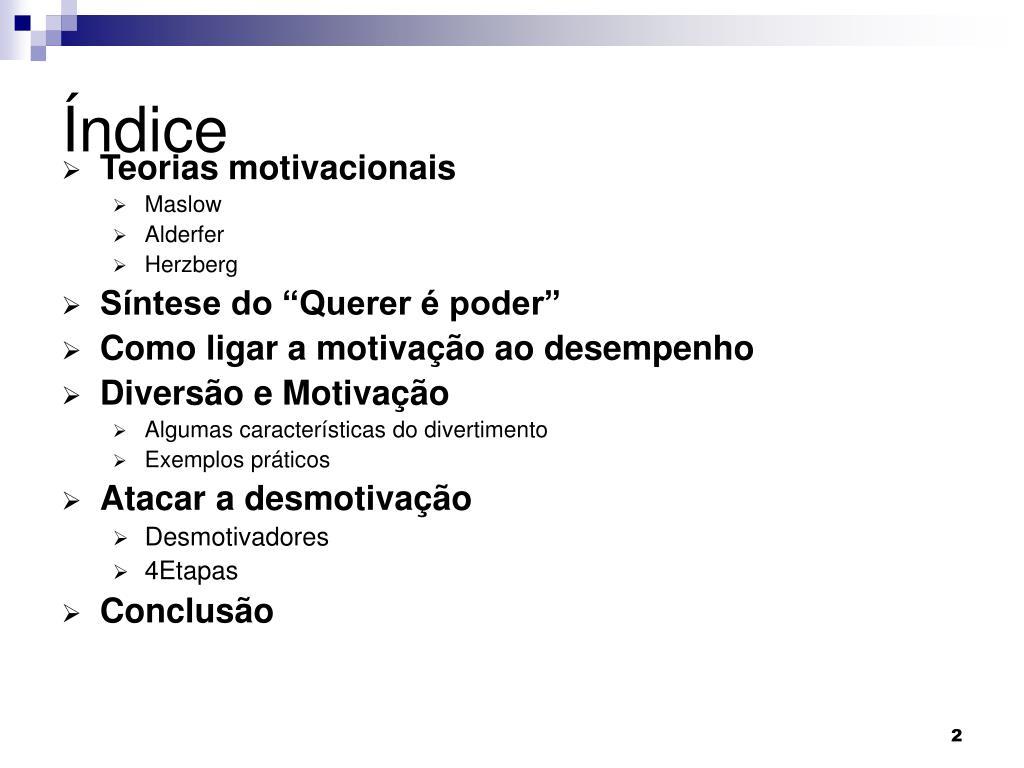 Ppt Motivação Powerpoint Presentation Free Download Id