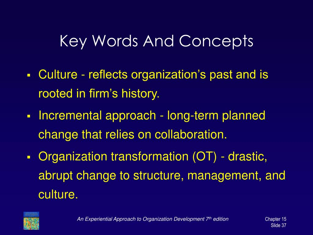 Key Words And Concepts