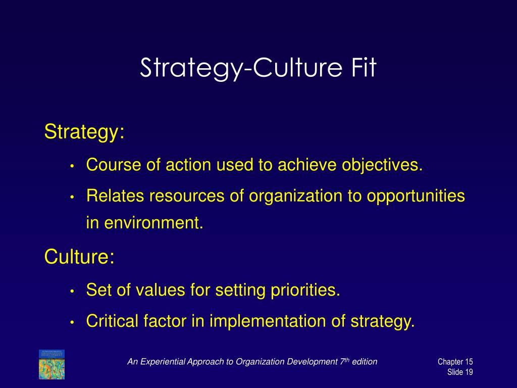Strategy-Culture Fit