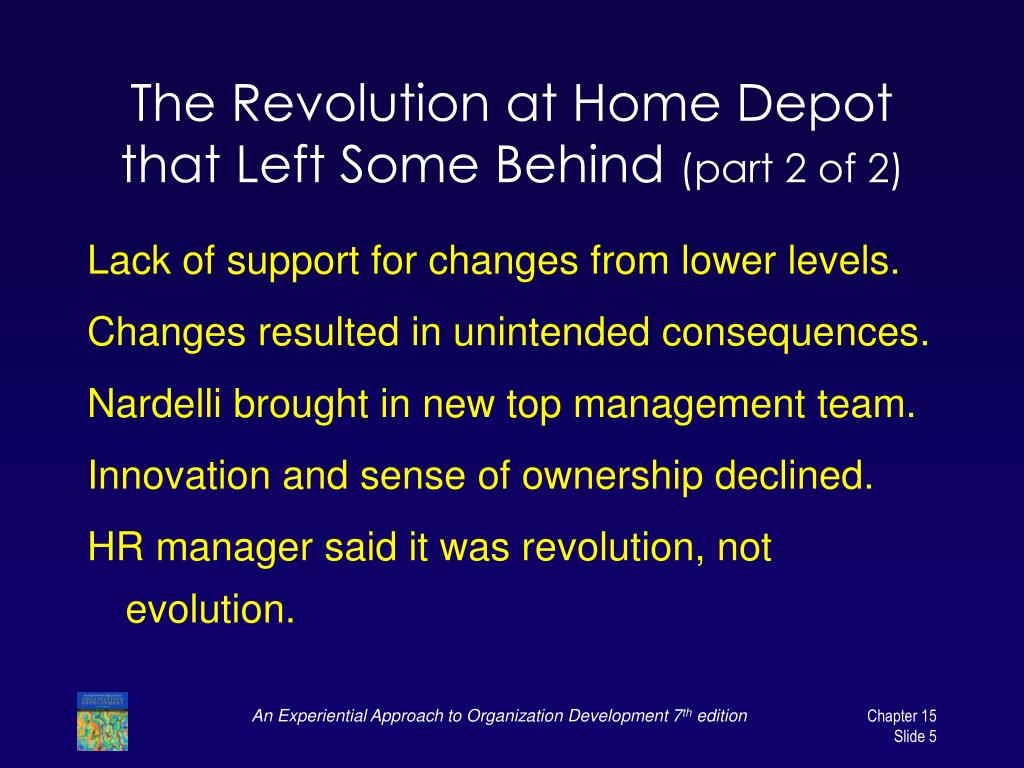 The Revolution at Home Depot that Left Some Behind
