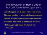 the revolution at home depot that left some behind part 2 of 2