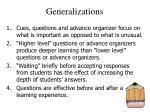 generalizations24